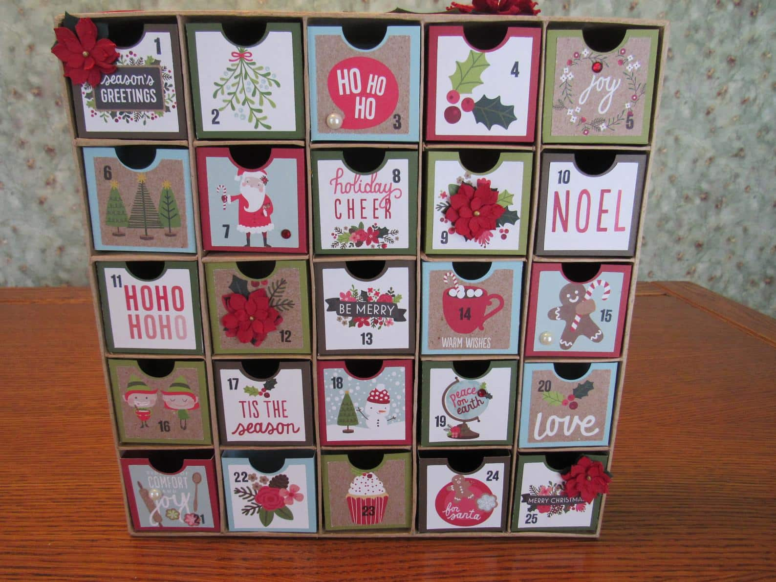 Large Traditional Advent Calendar