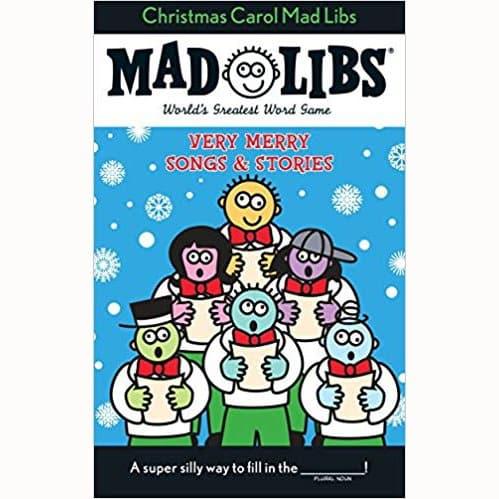 Christmas Carol Mad Libs