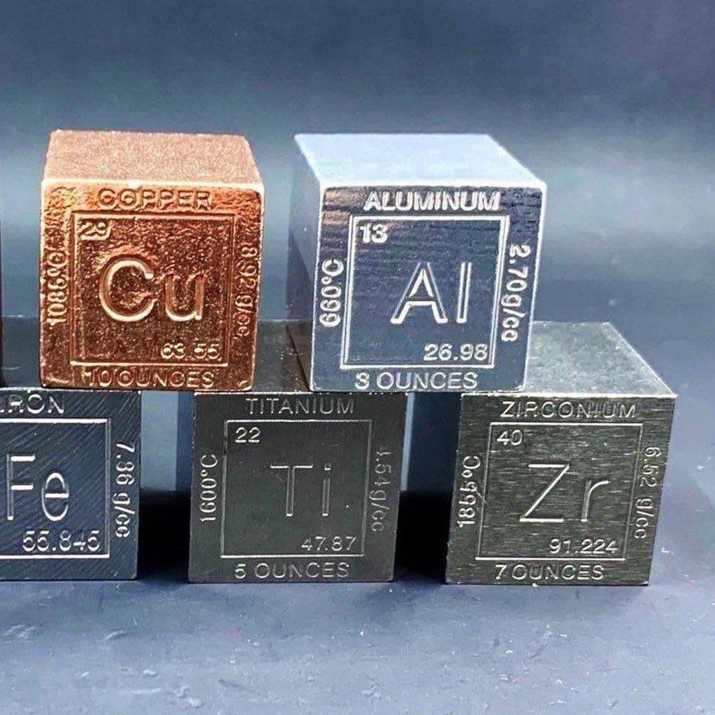 natural Element cubes