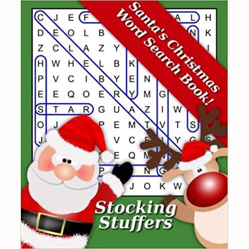 Santa's Christmas Word Search Book
