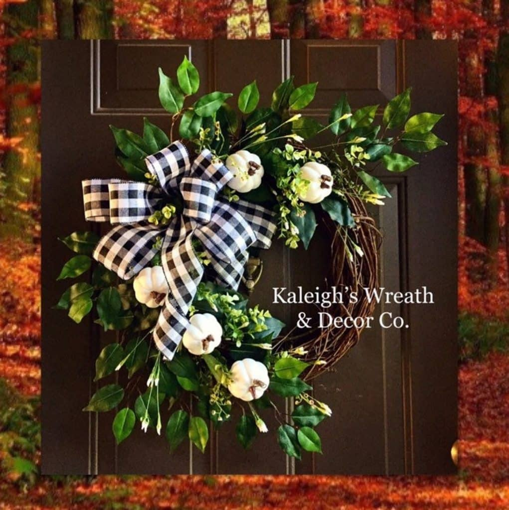 Beautiful Fall Decor Finds - Fall Wreaths