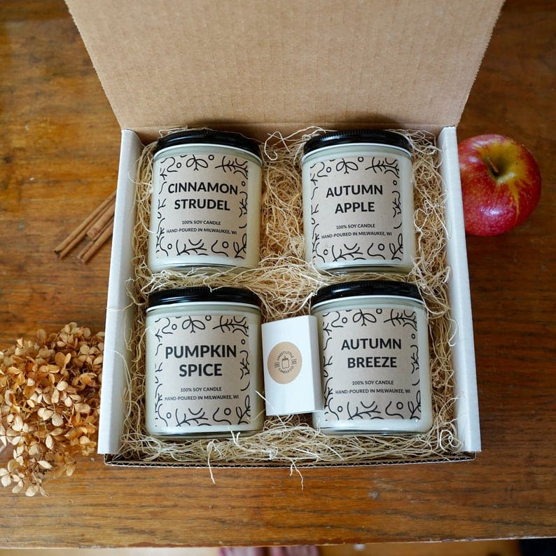 Beautiful Fall Decor Finds - Fall Candle Collection