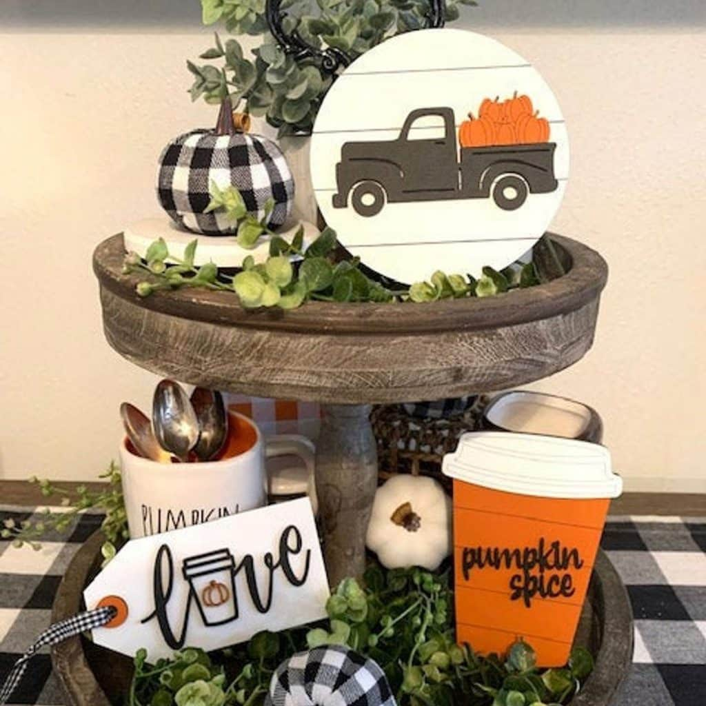 Beautiful Fall Decor Finds - Wooden Fall Signs