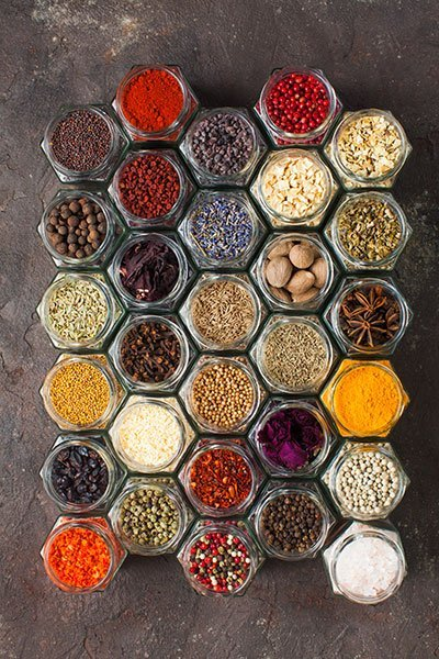 How to Organize and Inventory a Spice Cupboard